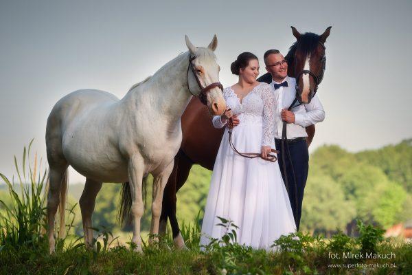 Natura – dobry pomysł na sesję ślubną.