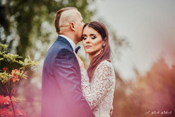 Sesja ślubna w Arboretum w Stradomii koło Oleśnicy